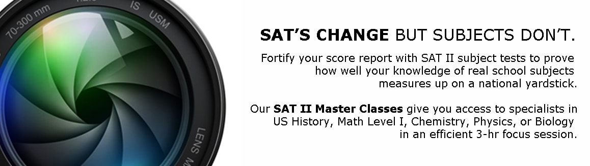 New Jersey SAT ACT SSAT SAT II Subject Tests admission test preparation classes